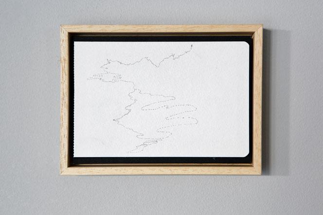 Mappe - penna su carta, archiviazione fogli di taccuino - 2010-2018