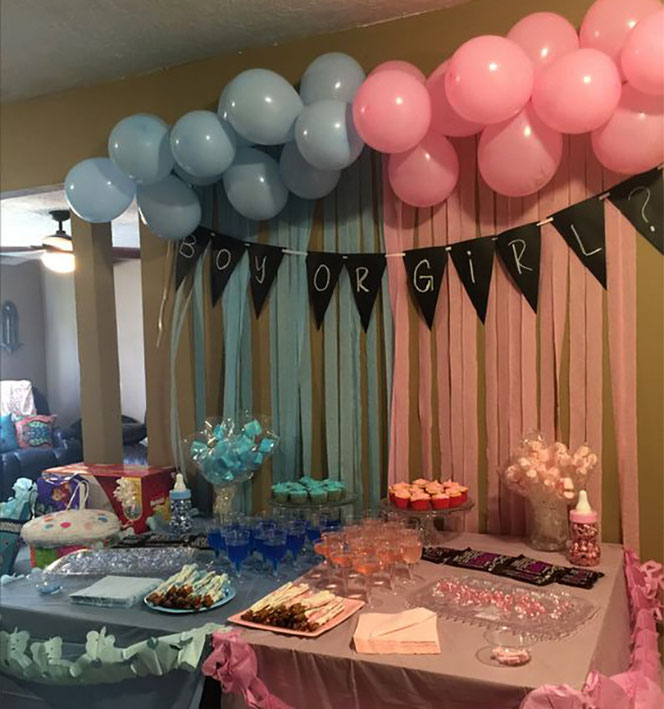 gender party baby shower