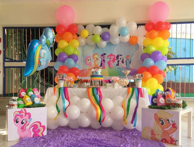 cumpleaños tematico de my little pony