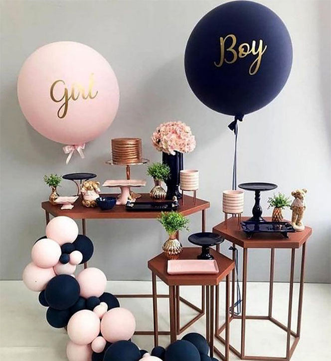 baby shower gender reveal party