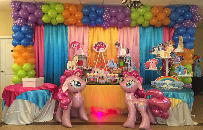 decoracion fiesta my little pony
