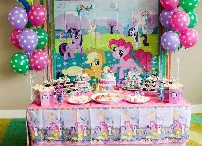 arreglo para cumpleaños de my little pony