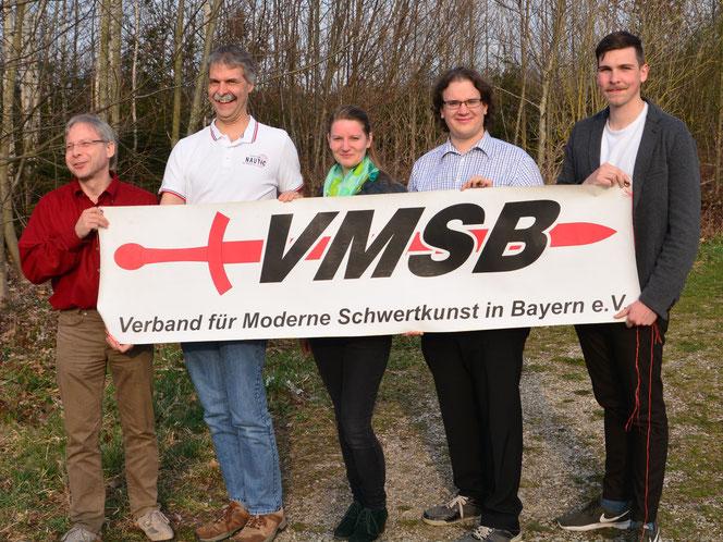 VMSB-Präsidium: Harald Prasser, Torsten Pyttlik, Ines Kapke, Franz Schartner, Sebastian Höglinger