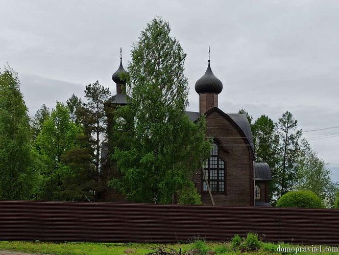 Храм Воскресения Христова в Суйде