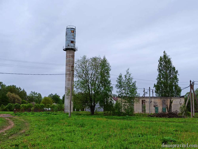 Водонапорная башня в Суйде