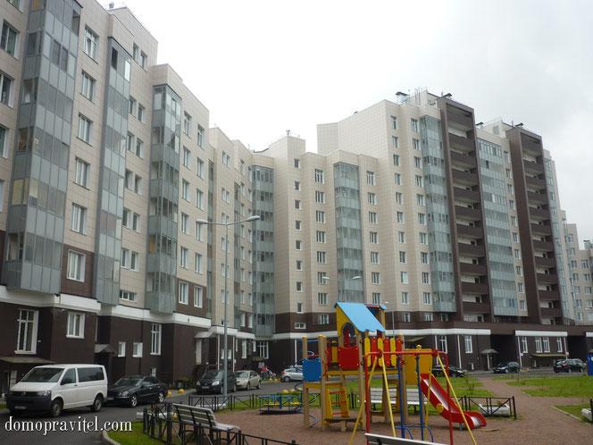 Чичеринская 2 в Петергофе, жилой комплекс Университетский Петергоф