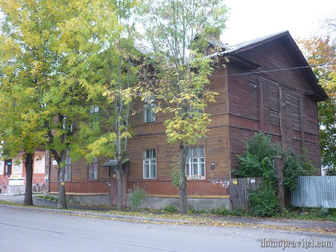 Дом на Горького 28 (осень 2015)