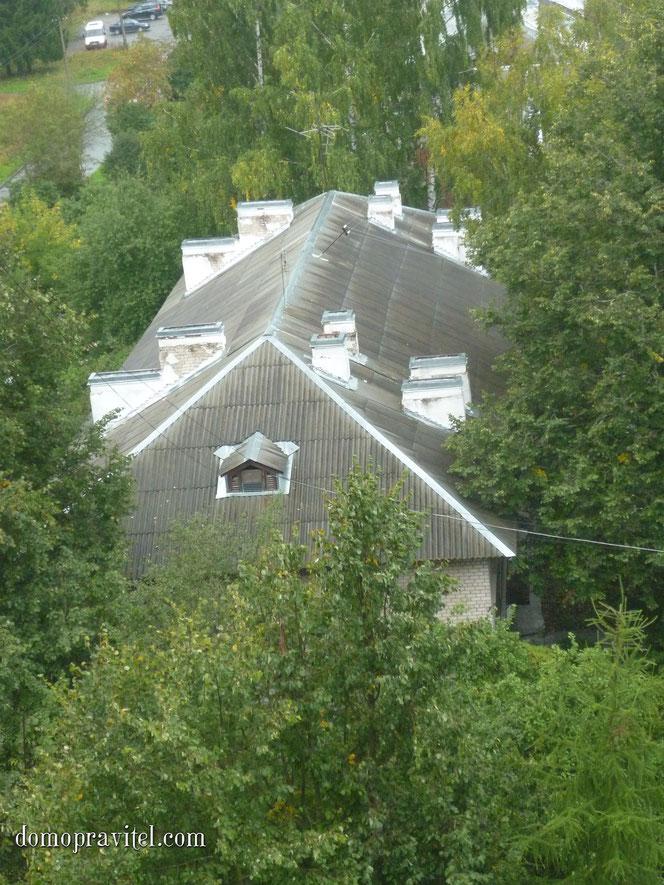 Русинова 4, вид с высоты птичьего полета