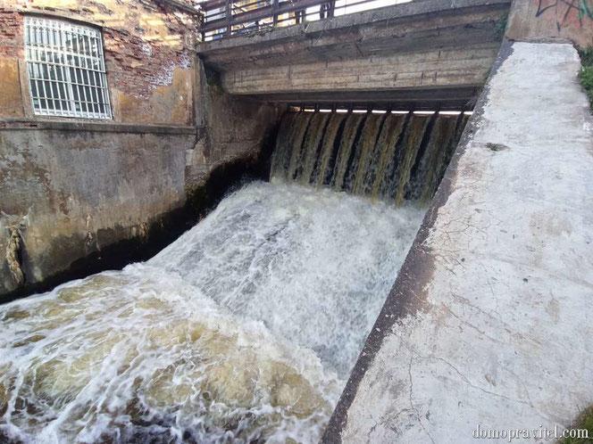 ГЭС в Вырице