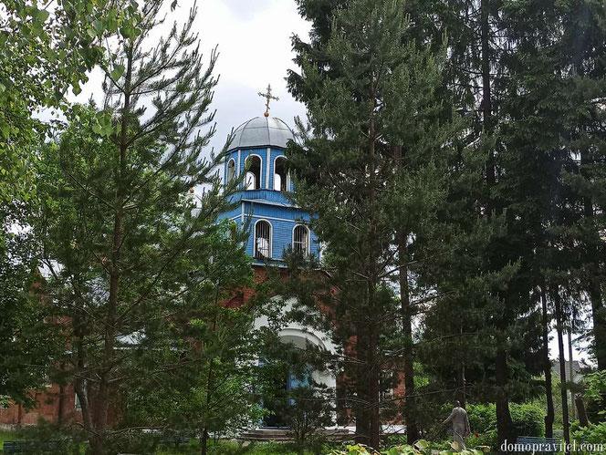 Церковь в Сусанино