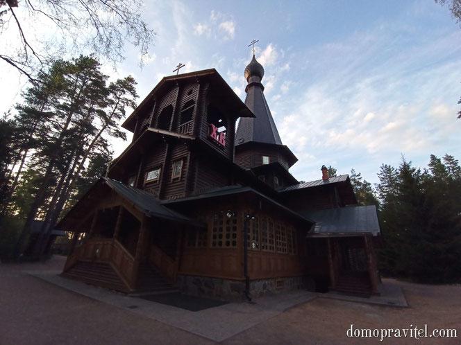 Казанский храм в Вырице
