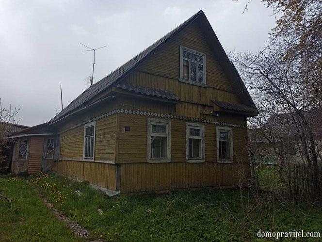 Типовой сельский дом в деревне Вопша