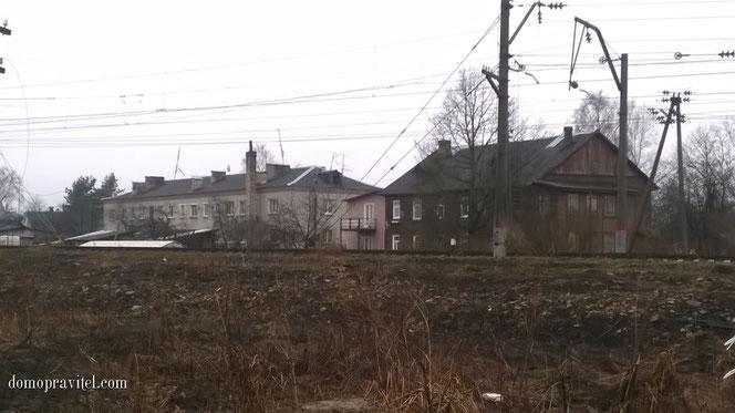 Новопролетарская улица в Гатчине