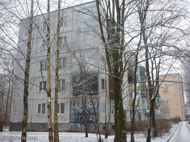 Дом на Крупской 5 в Гатчине