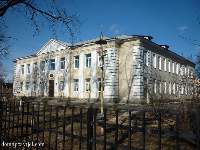 Школа в Кобрино