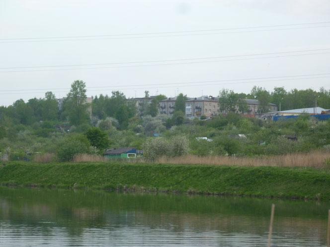 Вид на Низино с реки Шингарка