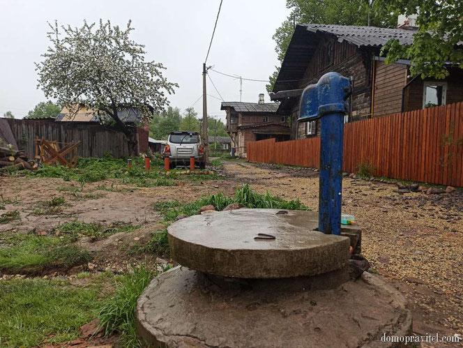 Колонка на Подпольщиков в Гатчине