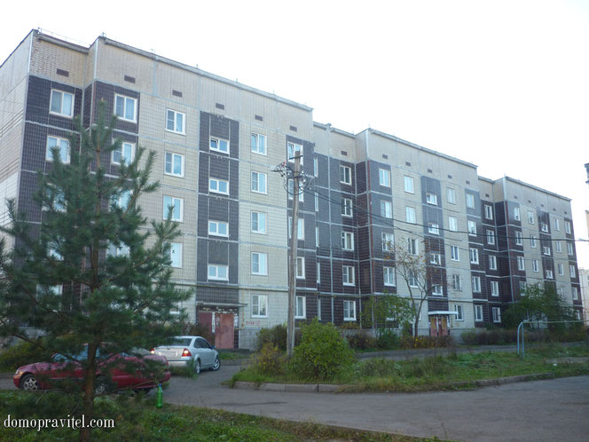 Дом серии 121 - Гатчинская