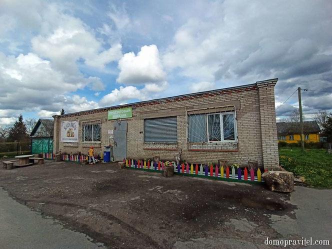 Магазин в Вопше
