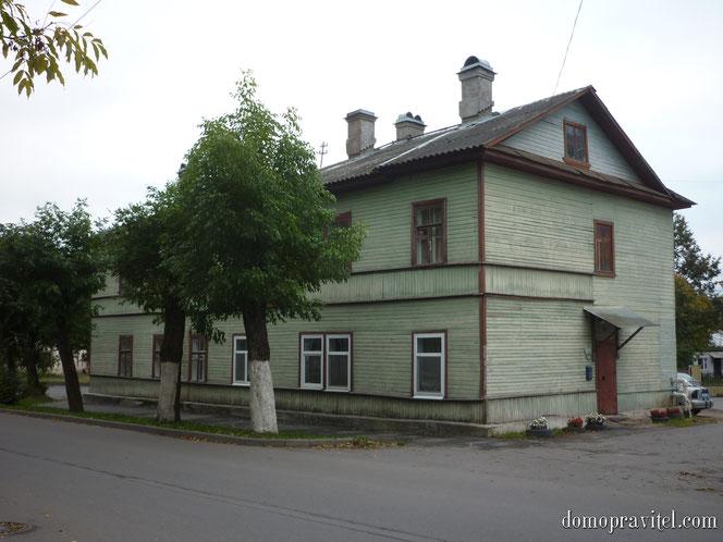 Дом по Чкалова 65 в Гатчине