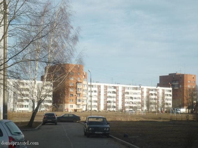 Комплекс домов на Генерала Кныша