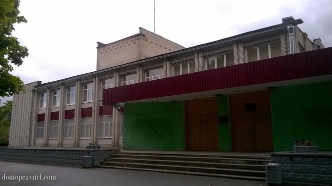 Дом культуры (досуговый центр) в Сяськелево