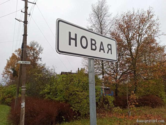 Деревня Новая Гатчинский район