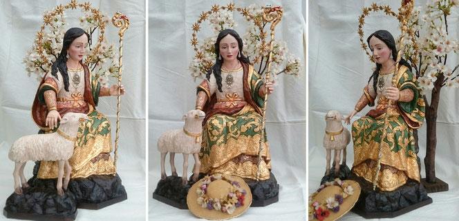 Réplica Divina Pastora de Cantillana