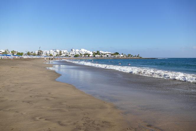 Lanzarote strand Los Pocillos