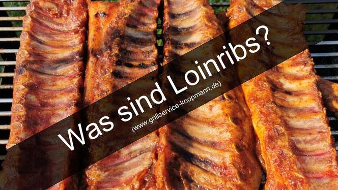 Loinribs auf dem Grill
