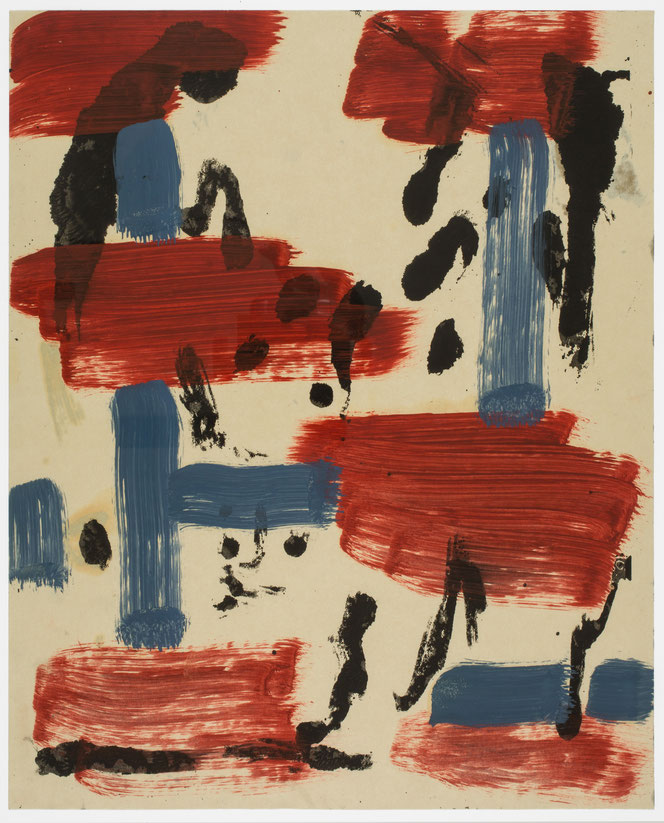 Siefgfried Anzinger Kunstwerk kaufen 1980er Jahre