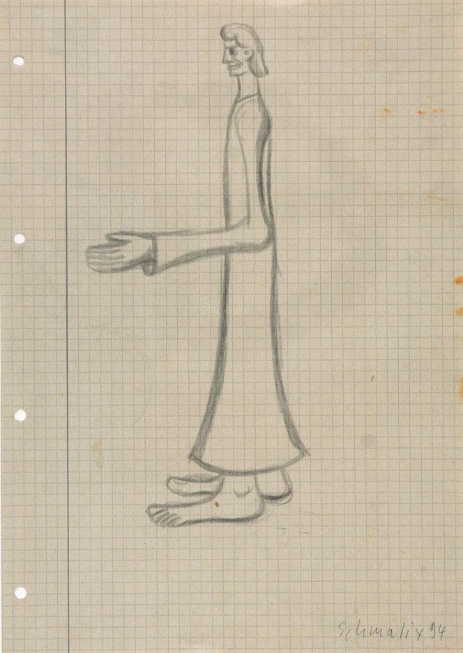 Jesus Darstellung Zeitgenössische Kunst von Hubert Schmalix