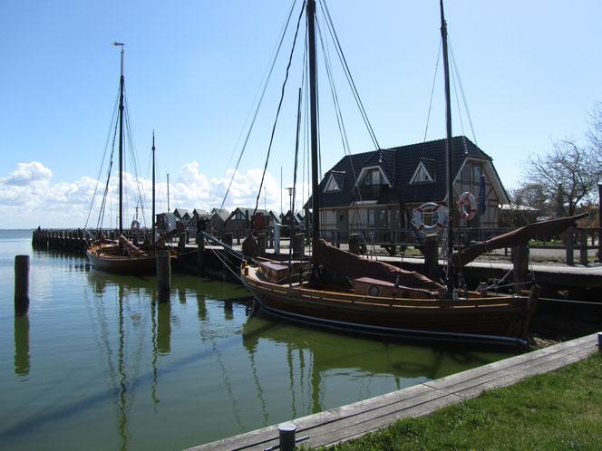 Hafen Althagen bei Ahrenshoop Fischland-Darß-Zingst