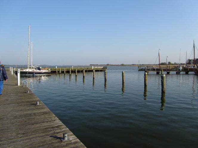 Hafen Dierhagen an der Ostsee