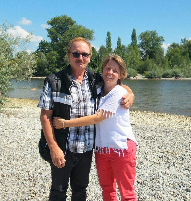Dunja Bruder und Stephan Havemann am Bodensee