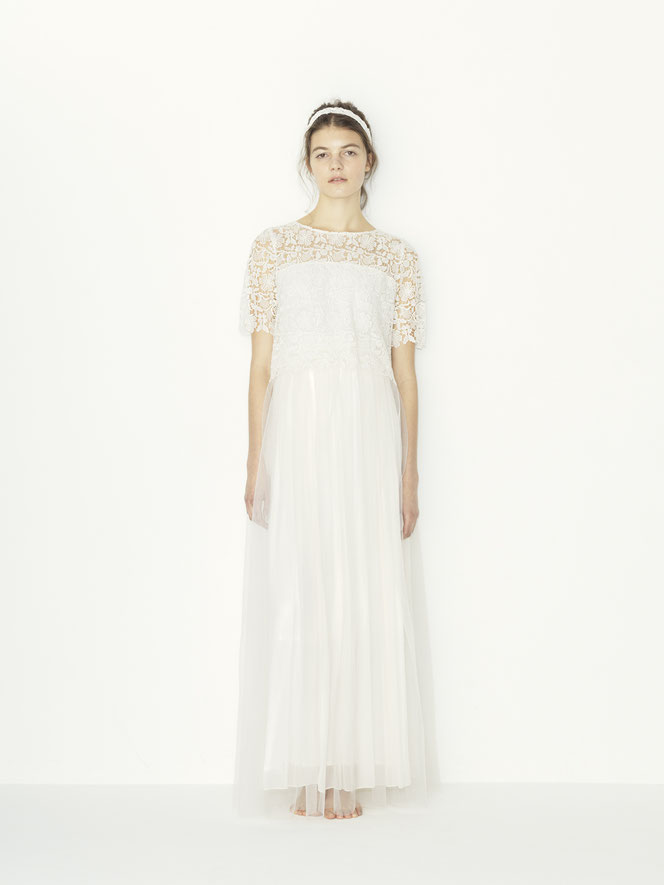 nd-1102/03  chemical lace x pe yoryu +tulle SK wedding dress