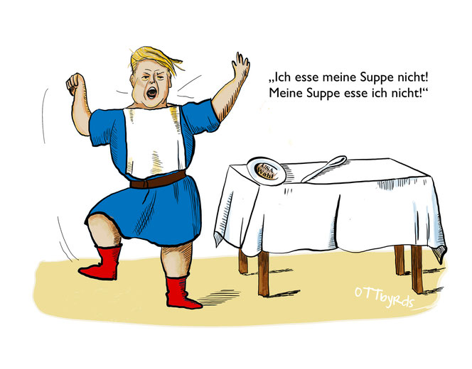 donald trump, wahl usa, election, president ,2020, suppenkaspar, bad loser, heinrich hoffmann, wahlbetrug,ottbyrds