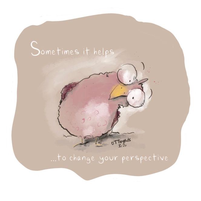 Sichtweise, Perspektive, Sichtwechsel, Sprüche, ottbyrds