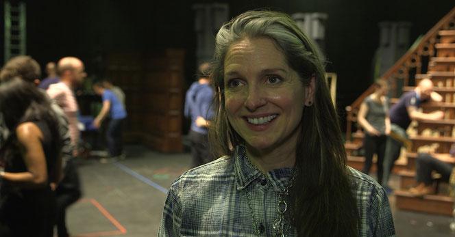 """Christine Jones, responsable des décors de la pièce """"Harry Potter et l'Enfant Maudit"""""""