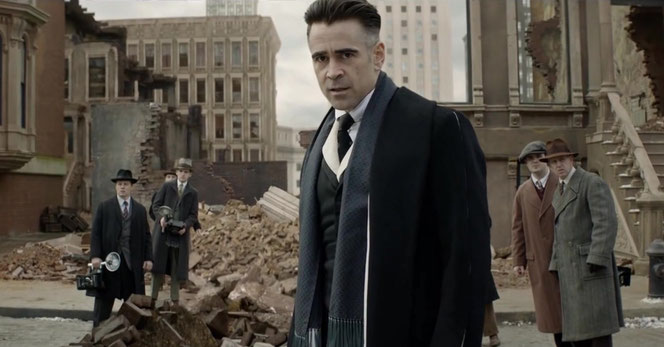 """Percival Graves (Colin Farrell) dans """"Les Animaux Fantastiques"""""""