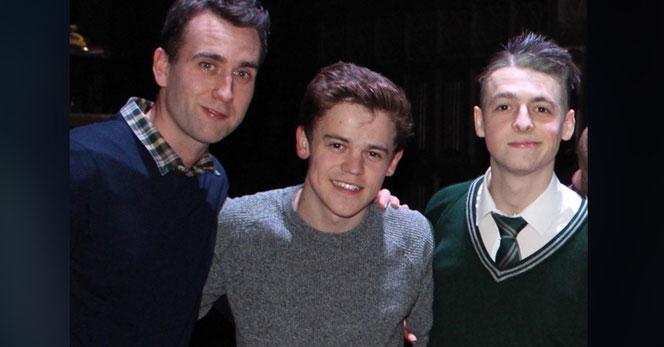 Matthew Lewis avec Sam Clemmett et Anthony Boyle