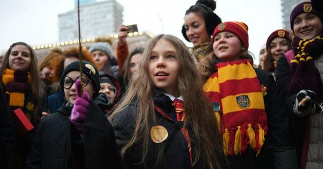 """Sortie du script d' """"Harry Potter et l'Enfant Maudit"""" à Moscou en Novembre 2016 (Ramil Sitdikov/Sputnik)"""