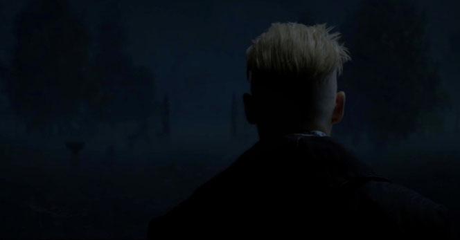 """Gellert Grindelwald (Johnny Depp) fait une courte apparition dans """"Les Animaux Fantastiques"""" (2016)"""