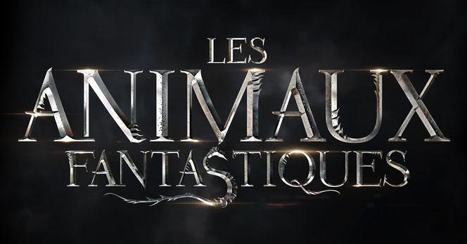"""Logo officiel du spin-off """"Les Animaux Fantastiques"""""""