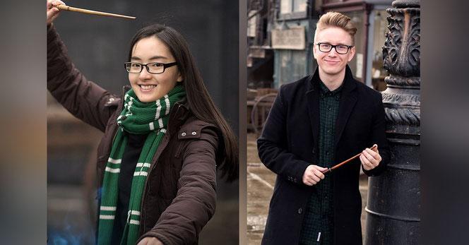 Si Li (Chine) et Tyler Oakley (USA), 2 des 17 youtubers qui participent à l'événement