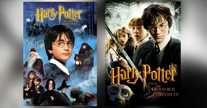 Les affiches des deux films