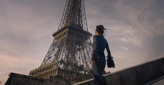 Le film se déroulera en partie dans le Paris des années 20...