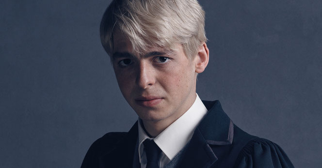"Anthony Boyle (Scorpius Malefoy) dans ""Harry Potter et l'Enfant Maudit"""