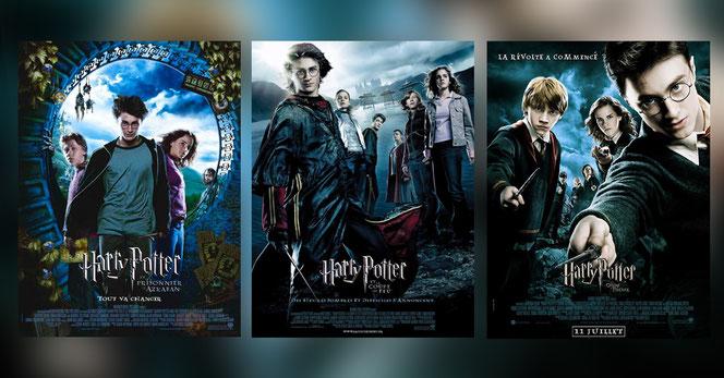 HP3 et HP4 ont déjà été diffusés 3 fois à la télévision française et HP5 deux fois