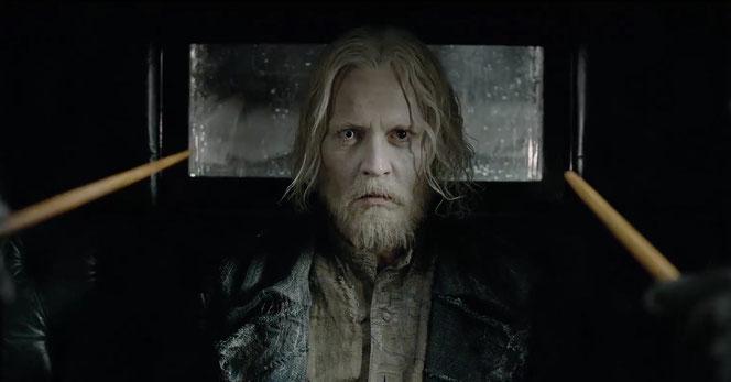 Gellert Grindelwald (Johnny Depp) apparait dans cette bande annonce (Les Animaux Fantastiques 2 : Les Crimes de Grindelwald - 2018)